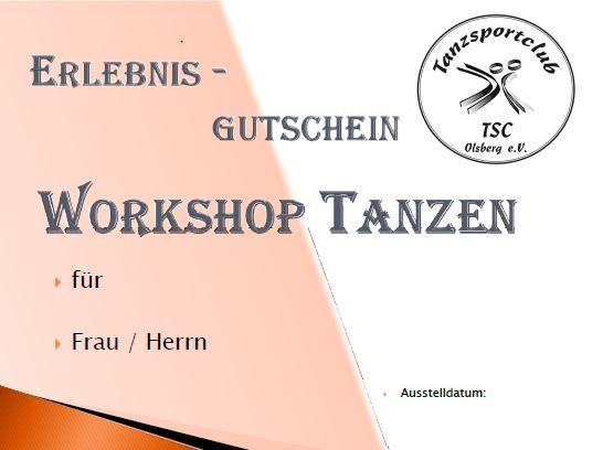 8556fa7209 Ein Einsteiger - Workshop im TSC Olsberg ab dem 12.01.2019 - 18.00 Uhr.